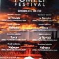 17 Settembre 2015 La Tosca – Pompei Festival – Teatro grande